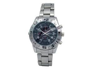 Silver Watch-Type 4GB Storate 640x480 Resolution 30 FPS Video & Audio Recording Waterproof Spy DVR