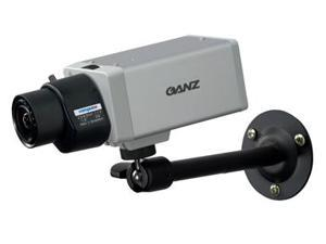 "Computar Ganz High Quality CCTV Box Color Camera YCH-04 KIT 1 1/3"" 540 TVL Color Digital Day/Night Camera with 2.9-8.2mm Auto-iris Varifocal Lens & 4"" Mounting Bracket (Black)"