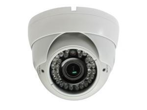 HD-SDI Outdoor Turret Dome IR camera: 2 Megapixel Full HD 1080p image, 2.8-12mm OSD Dual Video 36 IR ( White Color )
