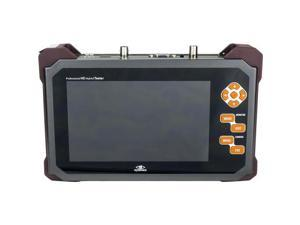 "Hybrid Portable CCTV HD-SDI 7"" Test Monitor HD-SDI, HDMI, VGA, CVBS Supports 1080P"
