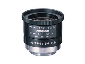 Computar Ganz High Quality CCTV Camera Lens M8513 8.5mm F1.3for 2/3 type Cameras, Fixed-focal Manual Iris (C-Mount)