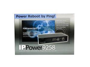 IP Power 9258T 4-Outlet Network AC Power Controller w/Ping Reboot