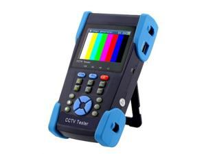 """HD CCTV All In One Test Monitor 3.5"""" HD TVI, HD-CVI, HD AHD , HD SDI, Analog 12V Power Out , LED Light , Cable test , Audio test , PTZ Test"""