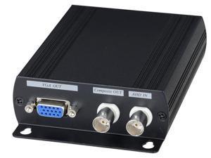 BlueCCTV CCTV AHD Video Converter to HDMI, VGA, BNC Three in One