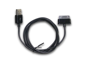 """Black USB Data Sync Charger USB Cable for Samsung Galaxy Tab 2"""" 10.1"""" 8"""" 8.9"""" 9"""""""