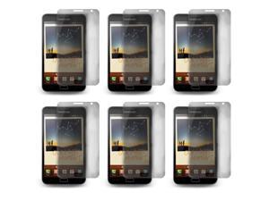 Lot 6x LCD Screen Skin Protector Film Cover For Samsung Galaxy Note N7000 i9220