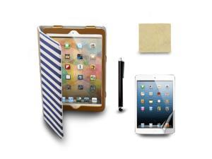 Brown Cowboy Case Cover for The New iPad Mini Tablet + Screen Film + Stylus Pen