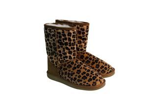 Ukala Heidi Low Chestnut Womens Casual Dress Boots