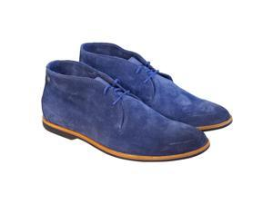 Diesel Lawles Mid Blue Teal Mens Casual Dress Chukka Boots