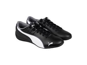 Puma Drift Cat 6 NM Black White Mens Lace Up Sneakers