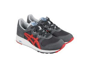Asics Gel Epirus Dark Grey Fiery Red Mens Lace Up Sneakers