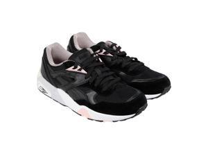 Puma R698 X Vashtie Black Mens Lace Up Sneakers