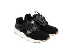 Puma Disc Blaze Felt Black Mens Slip On Sneakers
