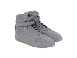 Puma Sky II Hi Mono NBK Steel Gray White Mens High Top Sneakers