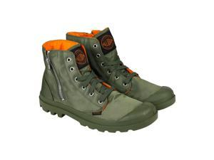 Palladium Pampa Hi Zip MA-1 Sage Orange Mens Casual Dress Boots