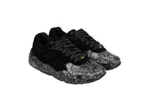 Puma R698 Roxx Black Dark Shadow Mens Lace Up Sneakers
