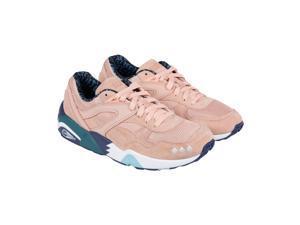 Puma R698 X Alife Peach Bud Lyons Blue Mens Lace Up Sneakers