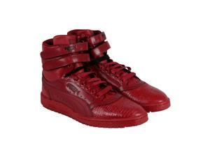 Puma Sky II Hi Snake V Rio Red Black Mens High Top Sneakers
