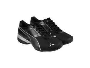 Puma Tazon 6 black-puma silver Mens Athletic Running Shoes