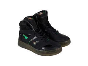 Puma Mcq Move Mid Black Black Black Mens High Top Sneakers