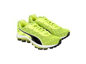 Puma Voltage Safety Yellow Black Mens Lace Up Sneakers
