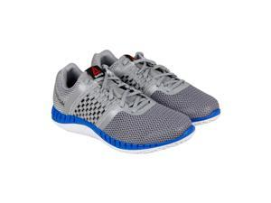 Reebok Reebok Zprint Run Tin Grey Shark Silver Met Mens Athletic Running Shoes