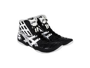Asics Split Second 9 Black Titanium White Mens Athletic Wrestling Shoes