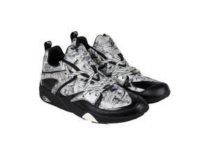 Puma Blaze Of Glory X Swash Wta Black Mens Lace Up Sneakers