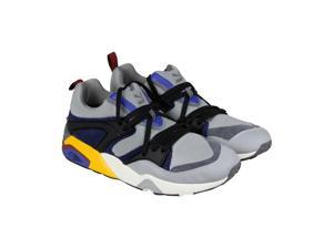 Puma Blaze Of Glory Street Light Quarry Peacoat Mens Athletic Running Shoes