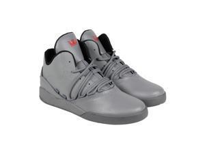 Supra Estaban Charcoal Charcoal Mens High Top Sneakers