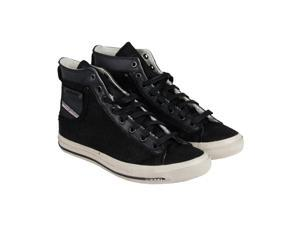 Diesel Exposure I Black Mens High Top Sneakers