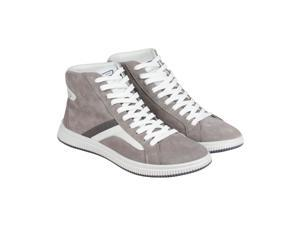 Diesel E-Kurw Silver Mink White Mens High Top Sneakers