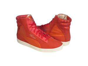 Puma Alexander McQueen AMQ Joustesse Mid II Faded Rose Womens High Top Sneakers