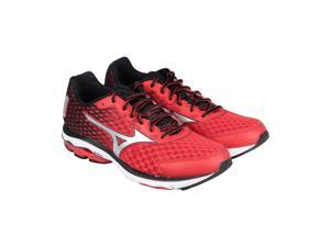 Mizuno Rider 18 Red Grey Black Mens Athletic Running Shoes