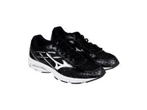 Mizuno Wave Unite 2 Black White Mens Athletic Running Shoes