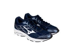 Mizuno Wave Unite 2 Navy White Mens Athletic Running Shoes