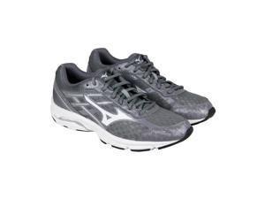 Mizuno Wave Unite 2 Gray White Mens Athletic Running Shoes