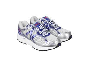 New Balance Running Course Grey Blue White Womens Athletic Running Shoes