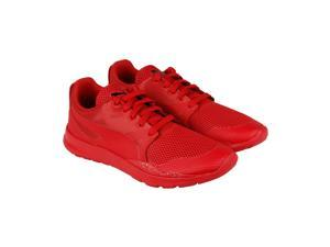 Puma Duplex Evo Graphic Red Blast High Risk Red Mens Lace Up Sneakers