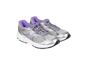 New Balance Running Course Grey Purple Orange Womens Athletic Running Shoes