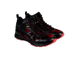 Onitsuka Tiger Harandia MT Red Plaid-Black Mens Lace Up Sneakers