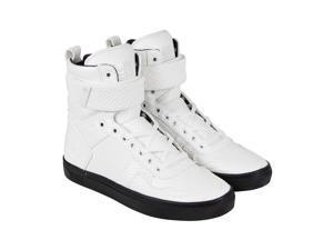 Radii Vertex Ivory Crocodile Vegan Leather Mens High Top Sneakers
