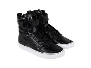 Radii Vertex Jet Crocadile Vegan Leather Mens High Top Sneakers