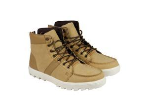 DC Woodland Camel Mens High Top Sneakers