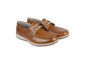 Clarks Fallston Style Tan Leather Mens Casual Dress Oxfords