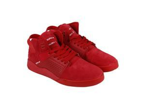 Supra Skytop III Red Red Mens Lace Up Sneakers