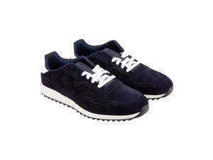 Diesel S-Swifter II Blue Graphite White Mens Lace Up Sneakers