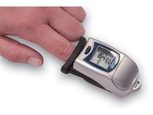 Deluxe Finger Tip Pulse Oximeter with Large LCD Display