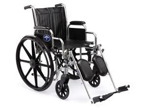 Medline MDS806300D Excel 2000 Wheelchairs Case Of 1 EA