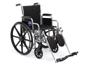 Medline MDS806300NEE Excel 2000 Wheelchairs Case Of 1 EA